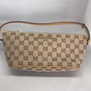 Gucci GG mono Pochette bag, excellent condition!